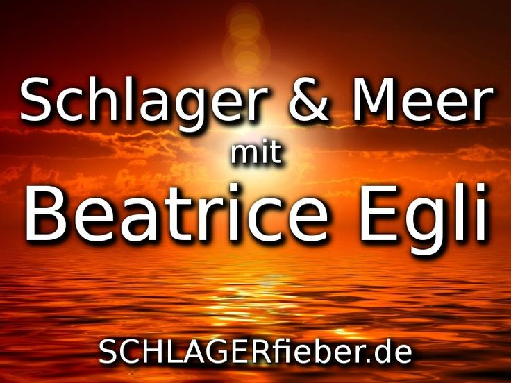 Am 19.02.2017 sendet der MDR Beatrice Egli: Schlager & Meer! Die Schweizerin geht vielen Stars auf große Kreuzfahrt in den Orient!