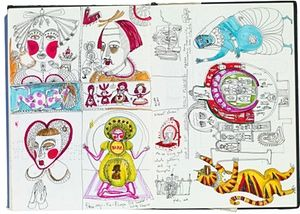 Inside Grayson Perry's sketchbook | Art and design | The Guardian