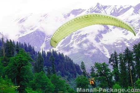 Enjoy Paragliding in Manali