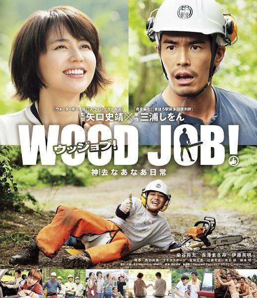 Wood Job! (Blu-ray) (Standard Edition) (Japan Version) [Sometani Shota, Ito Hideaki, Nagasawa Masami]