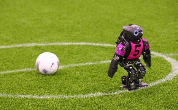 Descubra la competencia de fútbol Robocup en China. Visite nuestra página y sea parte de nuestra conversación: http://www.namnewsnetwork.org/v3/spanish/index.php  #nnn #bernama #china #usa #news #noticias #hefei #robocup #pics #deporte #soccer #futbol #robot