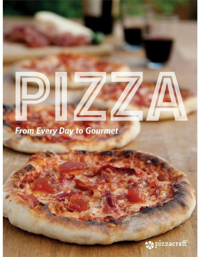 Pizza From Every Day To Gourmet Pizza Recipe Book $10.50 At Home Depot Helpful guide with over 100 pages of methods, equipment and recipes, in full color photography. As the name says, it covers pizza for every day to gourmet. This is a must-have recipe book for every pizza lover. https://api.shopstyle.com/action/apiVisitRetailer?id=542538399&pid=uid841-37799971-81