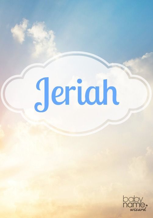 Jeriah: A rare choice found in the Old Testament, Jeriah hits a sweet spot with its popular -iah ending and brevity. It works well among other hit biblical names, while keeping its appeal as a unique option. Biblical Baby Boy Names