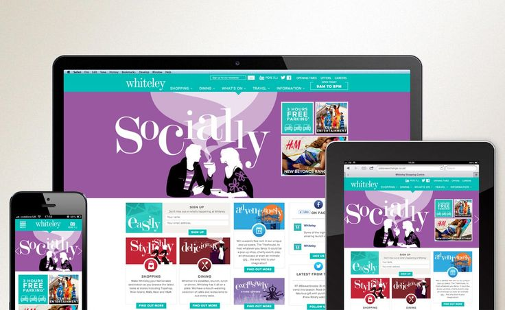 Responsive Website Design and Build | Whiteley, Fareham - Now Media