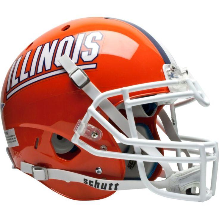 Schutt Illinois Fighting Illini XP Authentic Football Helmet, Team