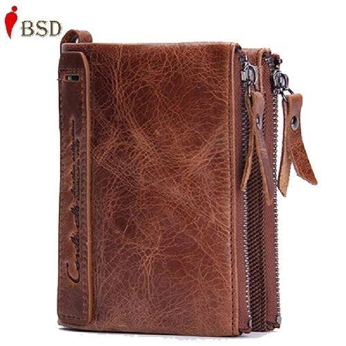 Brand men's wallets dollar price wallet, Genuine leather wallet card holder luxu #OGRAFF #business