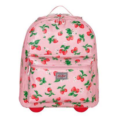 Kids |  Mini Strawberry Kids Backpack Suitcase  | CathKidston