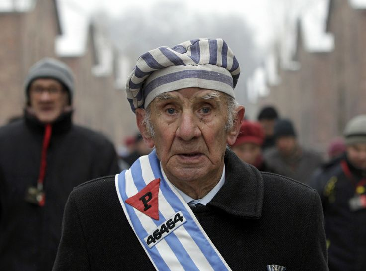 IN BEELD. Overlevenden herdenken Holocaust - De Standaard