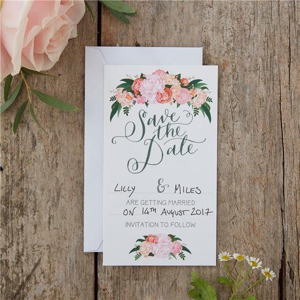 Boho Wedding Save The Date Cards (10) – notjustaday.com