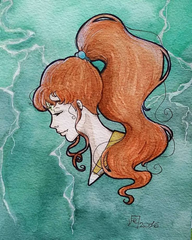 Protected by Jupiter, the planet of thunder, Guardian of Protection, Sailor Jupiter! I'll make you feel so much regret, it'll leave you numb!  #sailormoon #sailorjupiter #makotokino #fanart #watercolor