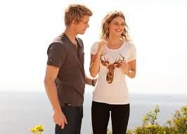 Indi and Romeo from home and away