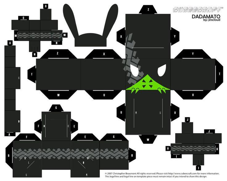 DADAMATO - Cubeecraft template by jinscloud