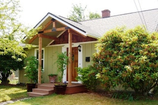 Changing A Ranch Style Home To A Cute Bungalow By Adding