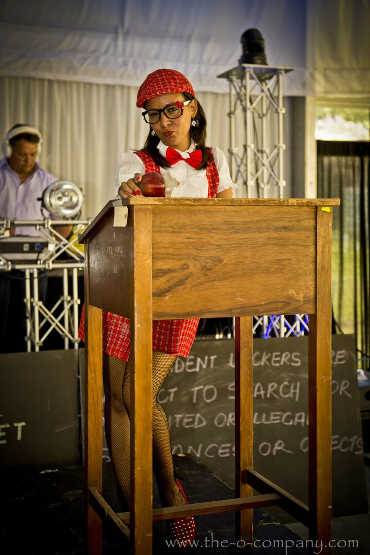Back to school themed  year end function