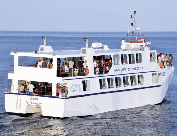 Jester cruise boat in Port Elizabeth