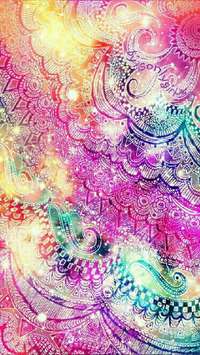 ombre mandala wallpaper - photo #16