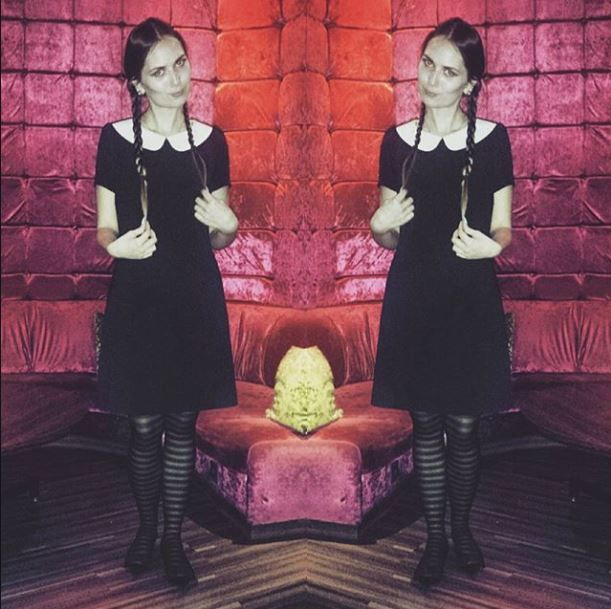 INSOMNIA: Halloween Wednesday Addams