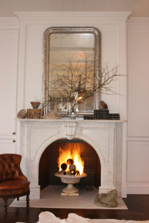 Quot Gardenfire Quot 19th Garden Urn Made Into Gas Fireplace