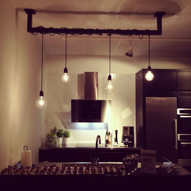 Belysning till matbordet