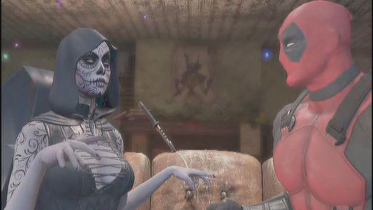 Deadpool - Cutscenes/Funny Moments (Part 5) - Catacombs