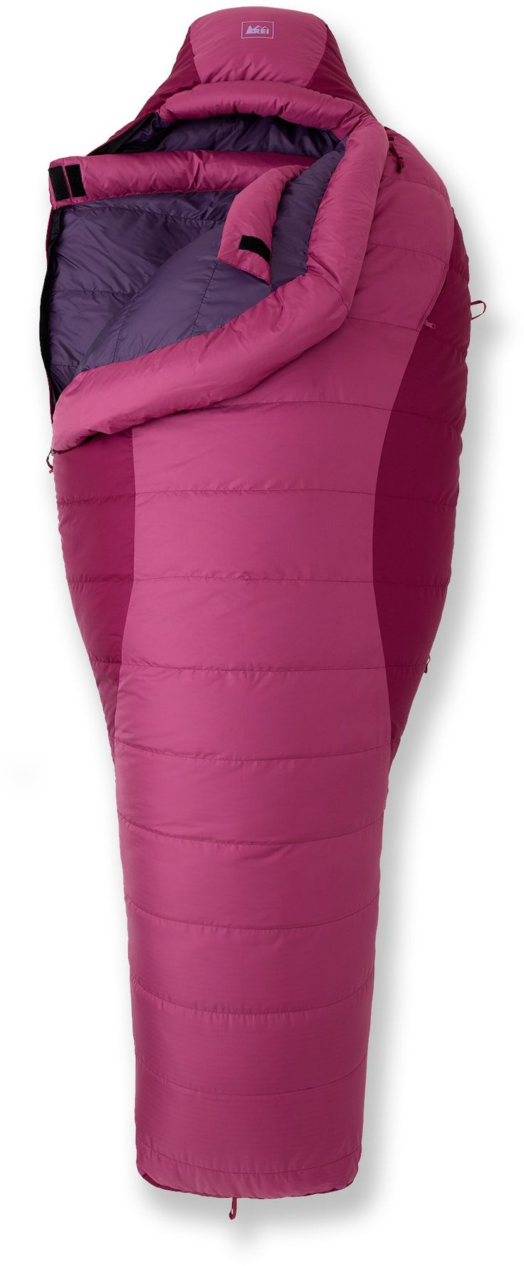 REI Habanera Sleeping Bag - Women's Backpackers Gear award for best down bargain for winter temps.