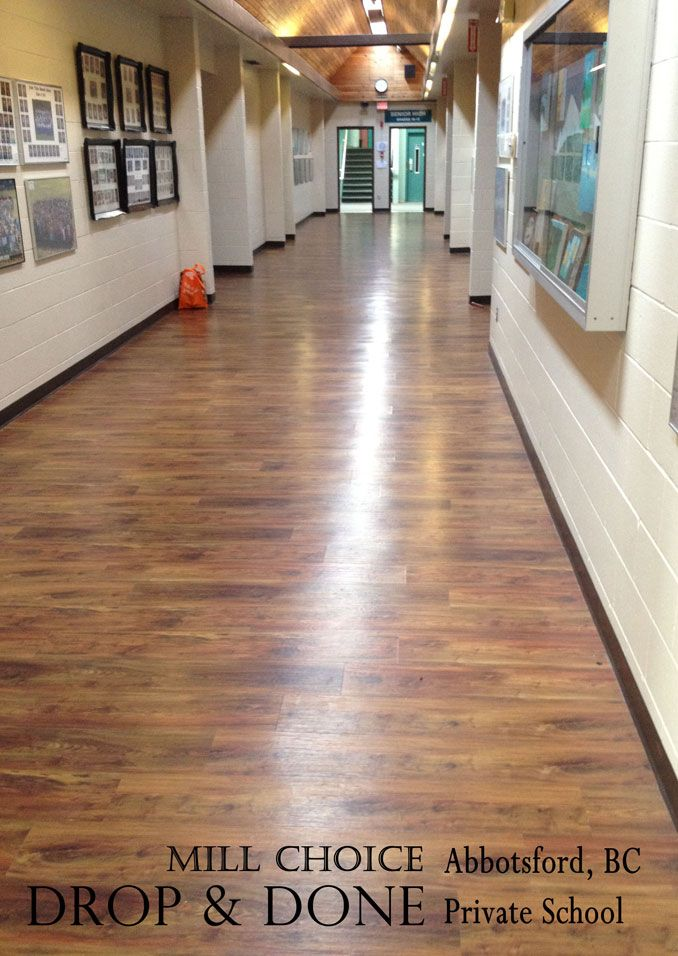 how to clean drop and done flooring