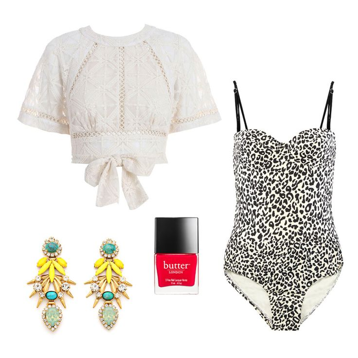 How to channel Elizabeth Taylor's poolside look
