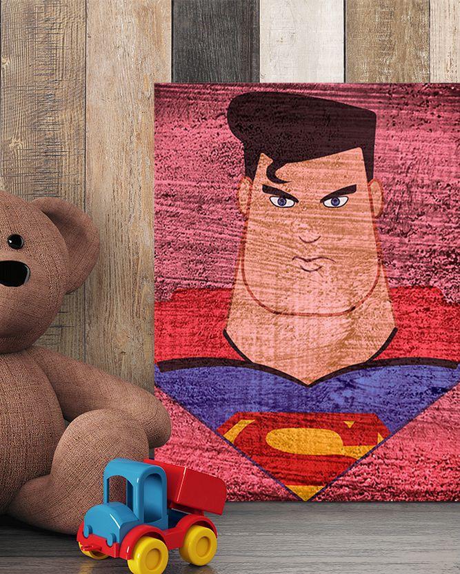 Superman Canvas Art - Marvel Canvas Art @ http://artzeedesigns.com/products/canvas-art-marvel-inspired-art-comic-book-characters-superman-by-artzee-designs.html