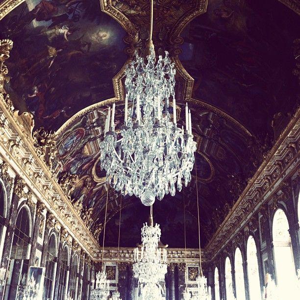The Chateau Versailles, France  via instagram.com/p/b1L_8loc1D/#marcelaabbade