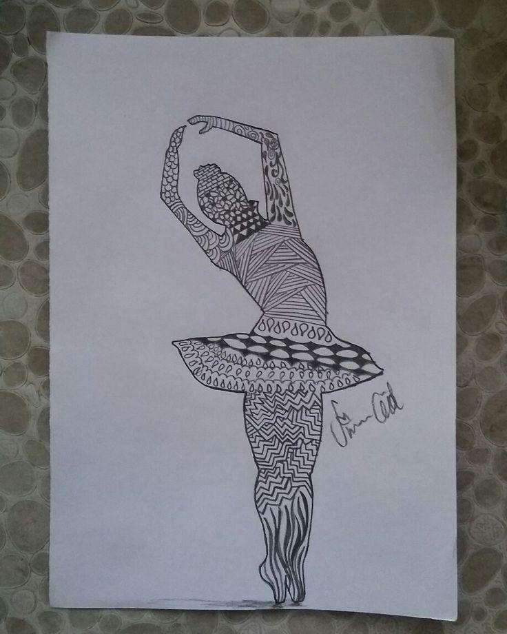 #drawing #art #artwork #karakalem #çizim #blackandwhite #balerin