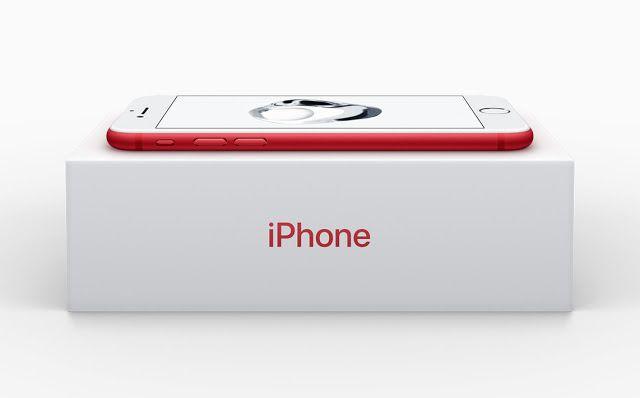 """Nuevos iPhone 7 rojo iPhone SE 128 GB y iPad de 97""""   La edición especial del iPhone 7 e iPhone 7 Plus estará disponible a partir del 24 de marzo.  Apple ha anunciado este martes el lanzamiento de una edición en rojo del iPhone 7 e iPhone 7 Plus en el marco de sus más de 10 años del apoyo a la campaña (PRODUCT) RED.  Al comprar un móvil de esta edición especial los usuarios contribuirán a la lucha contra el VIHfinanciado a la iniciativa (PRODUCT) RED que recauda dinero para el Fondo Mundial…"""