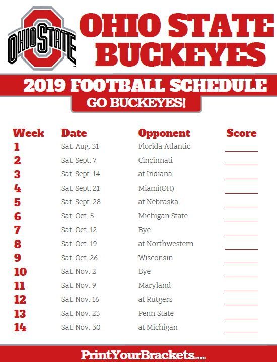 ohio state buckeyes football schedule buckeye football schedule ohio state football