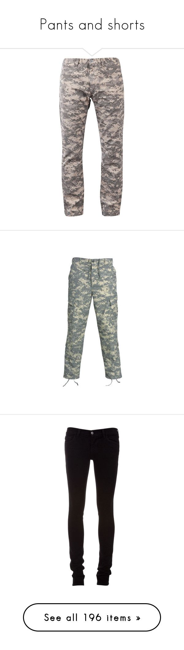 """Pants and shorts"" by flamingfirewolf ❤ liked on Polyvore featuring men's fashion, men's clothing, men's pants, men's casual pants, mens slim camo pants, mens camo pants, mens slim pants, mens leopard print pants, mens camouflage pants and pants"