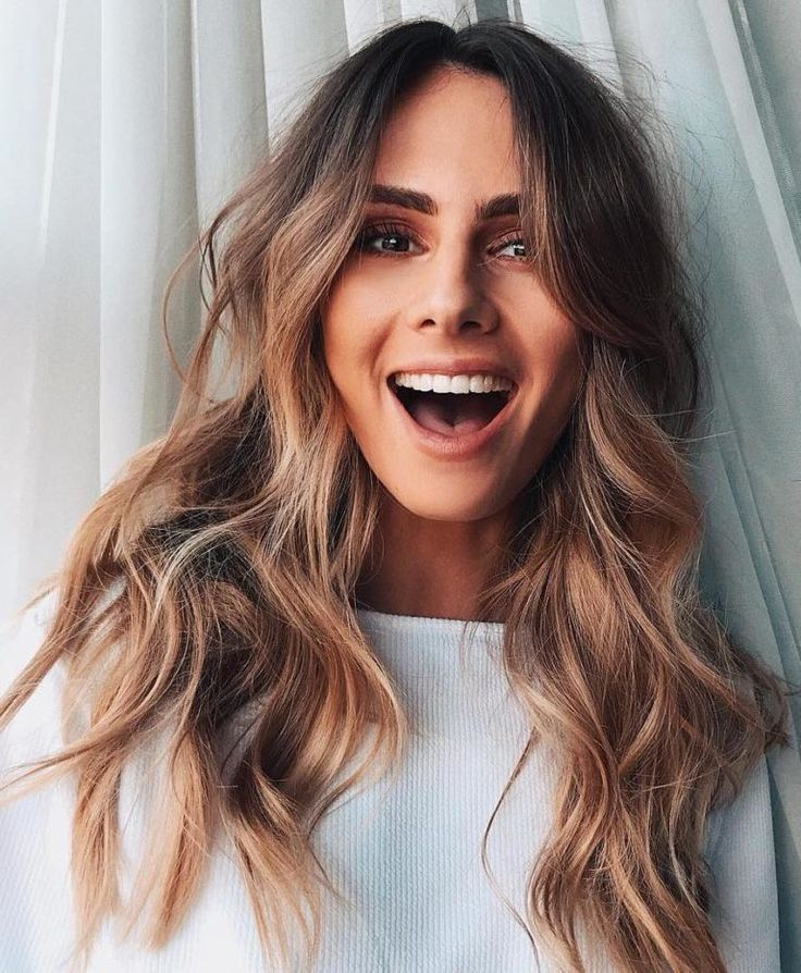 32 Nice Hairstyles with Lovely Shade and Pure Wave for Medium or Lengthy Hair
