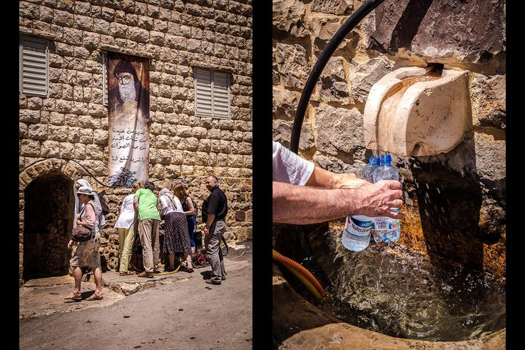 Nigdy nie wysychające źródełko w Bekaa-Kafra.