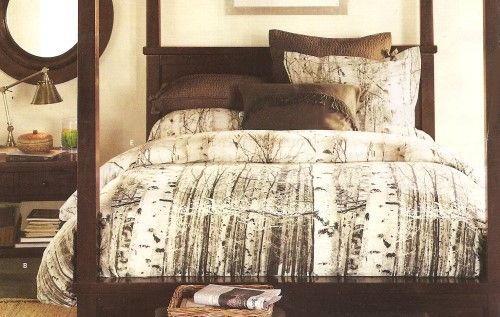 Birch Tree Photoreal Duvet Cover Pottery Barn Home