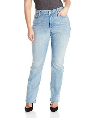 NYDJ Women's Plus-Size Billie Mini Bootcut Jeans