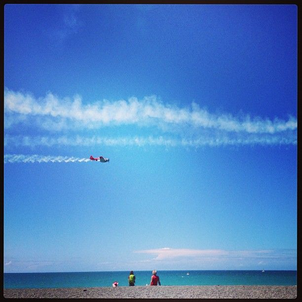 Airshow in Napier