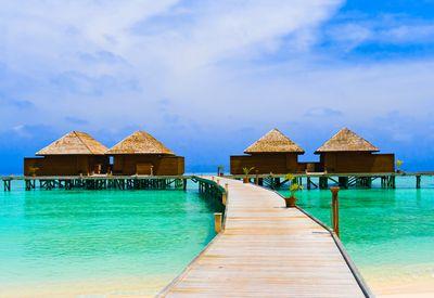 paradise island carribean sea