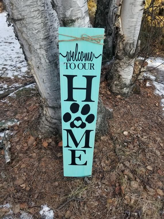 Porch Signs Paw Print Welcome Signs Wooden Signs Etsy Porch Signs Wooden Welcome Signs Porch Welcome Sign