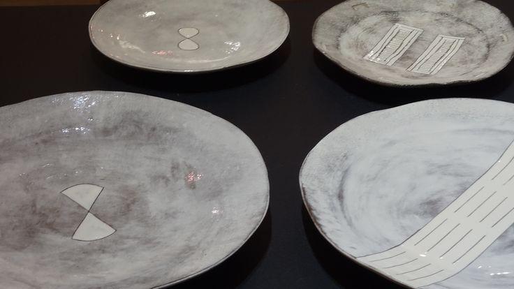 Dinner Ware, Ceramics at Kim Sacks Gallery, Johannesburg