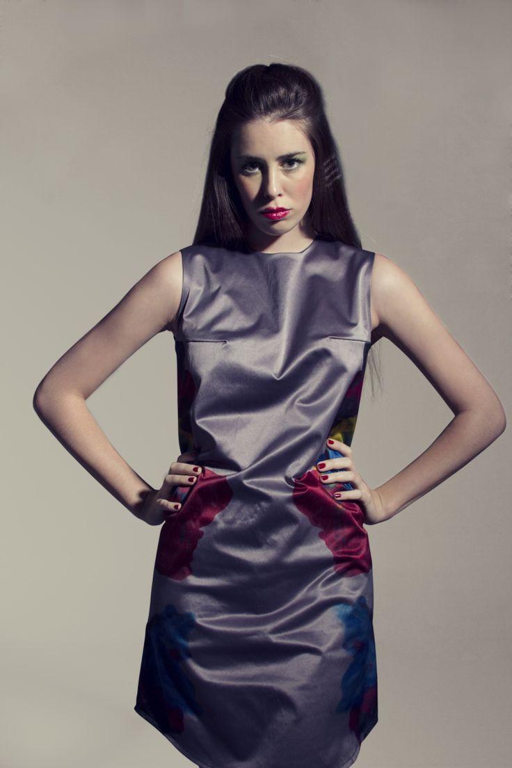 Vestido Psicology. Rose Bucher Design.