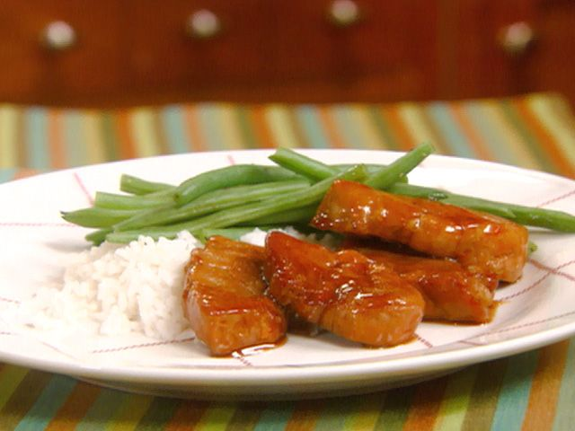 One of my favorites! It is Apricot-Glazed Pork Medallions recipe from ...