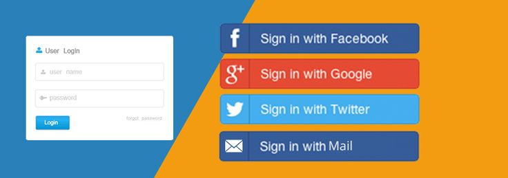 Ecommerce Website Design Tips_Social login options