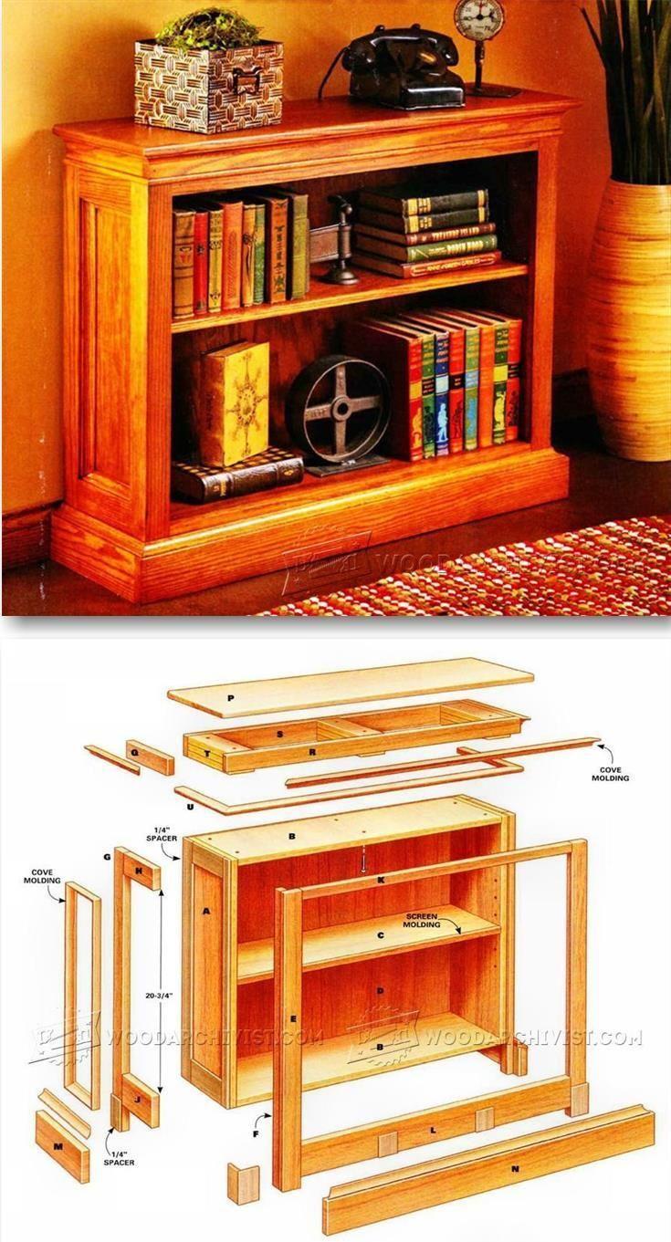 Shortcut Bookshelf Plans - Furniture Plans and Projects | WoodArchivist.com