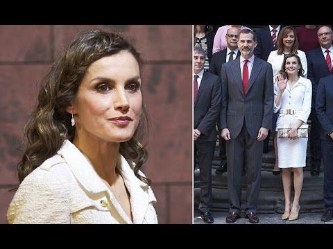 Queen Letizia of Spain Show Boho Hairstyle on the Second Day in the Canary Islands