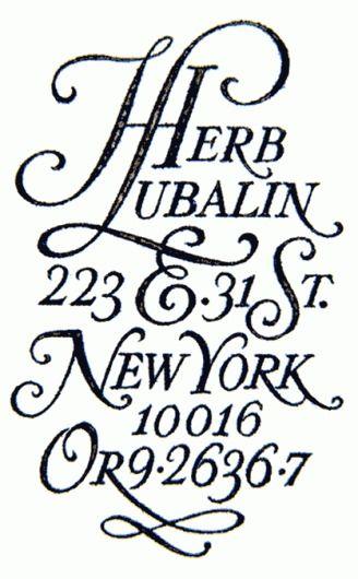 5 | Herb Lubalin: la saga ITC et U&lc – design et typo — Designspiration