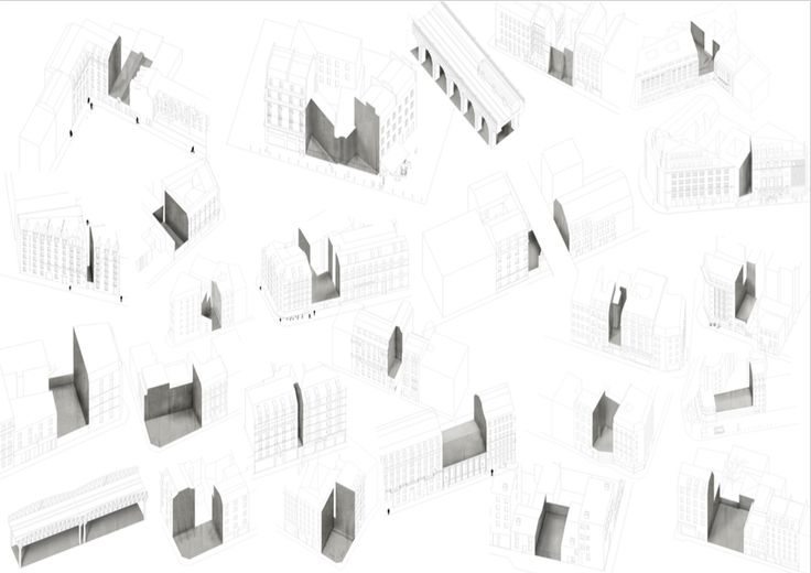 Drawing ARCHITECTURE | Martin Le Carboulec