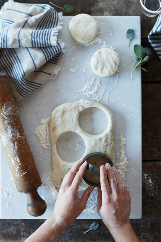 Honey Sage Biscuits