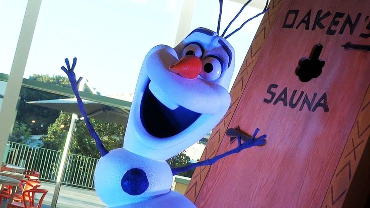 """""""Olaf's Frozen Adventure"""" live song - Kate Anderson and Elyssa Samsel pe..."""